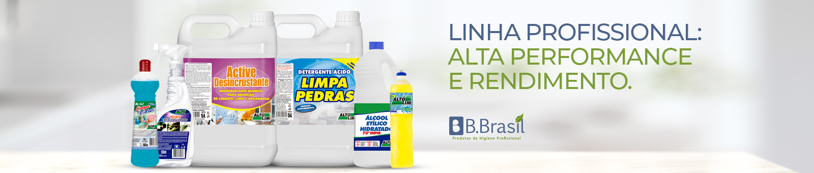 B.Brasil - Banners para o site Produtos